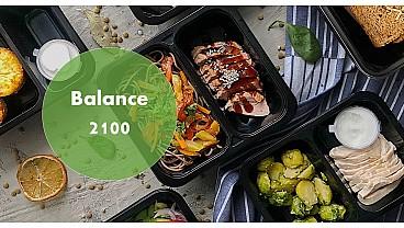 Доставка правильного питания BALANCE 2100 бесплатно в Москве и МО - заказать рационы готовой еды по выгодным ценам