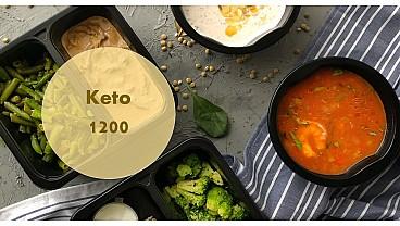 Доставка правильного питания KETO 1200 бесплатно в Москве и МО - заказать рационы готовой еды по выгодным ценам