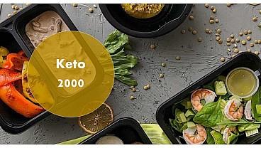Доставка правильного питания KETO 2000 бесплатно в Москве и МО - заказать рационы готовой еды по выгодным ценам
