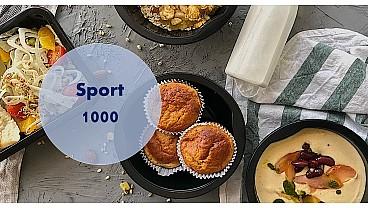 Доставка правильного питания SPORT 1000 бесплатно в Москве и МО - заказать рационы готовой еды по выгодным ценам