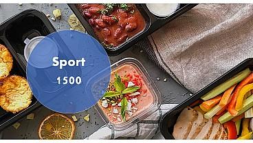 Доставка правильного питания SPORT 1500 бесплатно в Москве и МО - заказать рационы готовой еды по выгодным ценам
