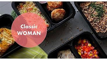 Доставка правильного питания Классика WOMAN 1000 бесплатно в Москве и МО - заказать рационы готовой еды по выгодным ценам